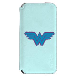 Wonder Woman Spray Paint Logo Incipio Watson™ iPhone 6 Wallet Case