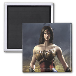 Wonder Woman Square Magnet