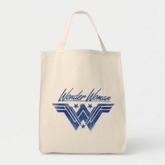 Wonder Woman Stacked Stars Symbol