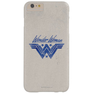 Wonder Woman Stacked Stars Symbol Barely There iPhone 6 Plus Case