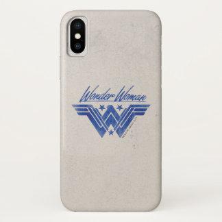 Wonder Woman Stacked Stars Symbol iPhone X Case