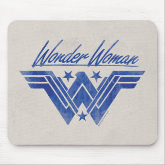 Wonder Woman Stacked Stars Symbol Mouse Mat