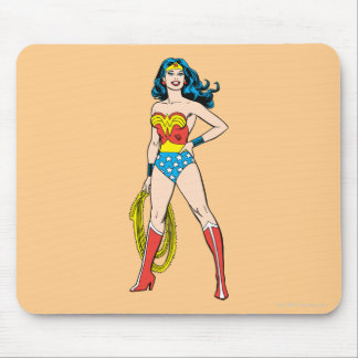 Wonder Woman Standing Mouse Pad