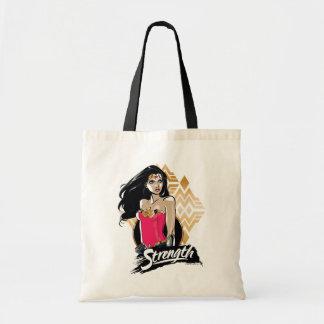 Wonder Woman Strength Tote Bag