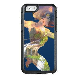 Wonder Woman Sunset Waterfall Silhouette OtterBox iPhone 6/6s Case