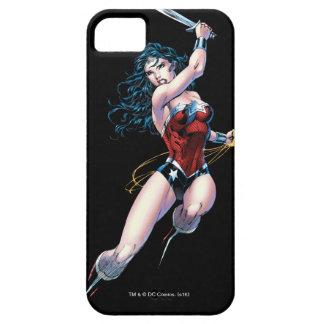 Wonder Woman Swinging Sword iPhone 5 Cover