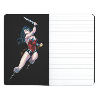 Wonder Woman Swinging Sword Journal