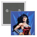 Wonder Woman & Sword Button