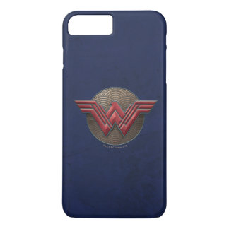 Wonder Woman Symbol Over Concentric Circles iPhone 7 Plus Case