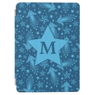 Wonder Woman Symbol Pattern | Monogram iPad Air Cover