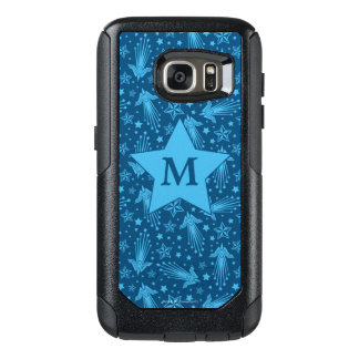 Wonder Woman Symbol Pattern | Monogram OtterBox Samsung Galaxy S7 Case