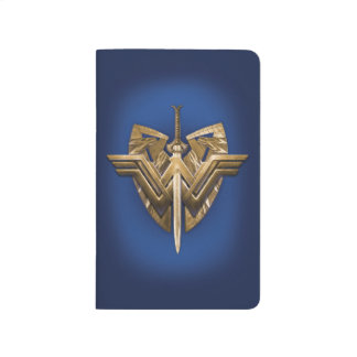 Wonder Woman Symbol With Sword of Justice Journals