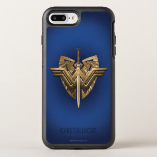 Wonder Woman Symbol With Sword of Justice OtterBox Symmetry iPhone 8 Plus/7 Plus Case
