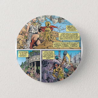 Wonder Woman Themyscira 6 Cm Round Badge