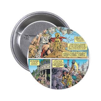 Wonder Woman Themyscira 6 Cm Round Badge