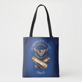Wonder Woman Tiara, Lasso, and Bracelets Tote Bag