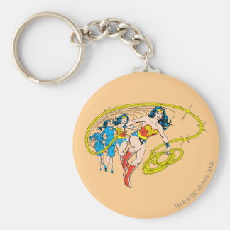 Wonder Woman Transform Key Ring