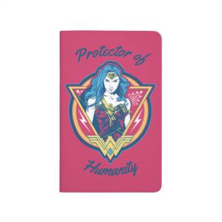 Wonder Woman Tri-Color Graphic Template Journals