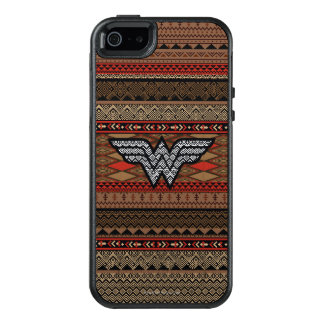 Wonder Woman Tribal Pattern OtterBox iPhone 5/5s/SE Case