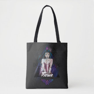 Wonder Woman Tribal Triangle Tote Bag