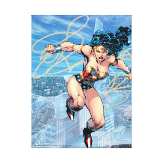 Wonder Woman Trinity Comic Cover #16 Canvas Print