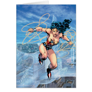 Wonder Woman Trinity Comic Cover #16 Card
