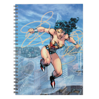 Wonder Woman Trinity Comic Cover #16 Spiral Notebook