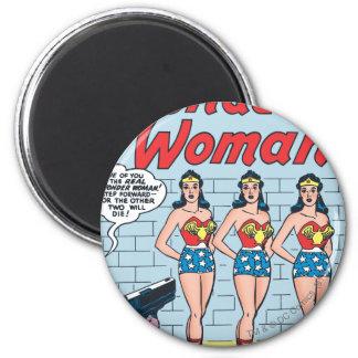 Wonder Woman Triple Identity Magnet