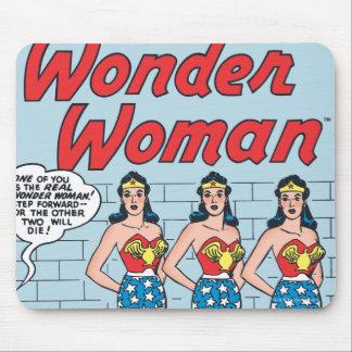 Wonder Woman Triple Identity Mouse Pad
