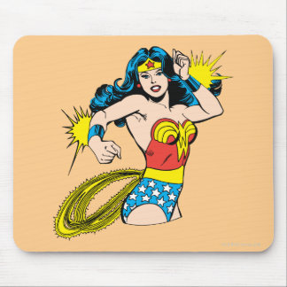 Wonder Woman Twist with Glowing Cuffs Mouse Mat