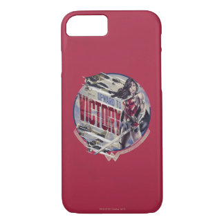 Wonder Woman Upward To Victory iPhone 8/7 Case