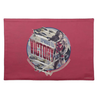 Wonder Woman Upward To Victory Placemat