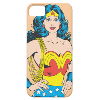 Wonder Woman | Vintage Pose with Lasso iPhone 5 Cases