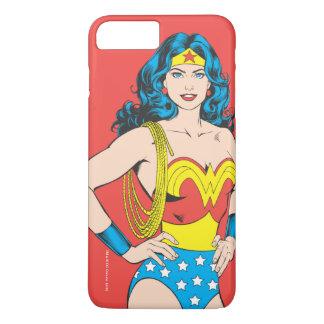 Wonder Woman   Vintage Pose with Lasso iPhone 8 Plus/7 Plus Case