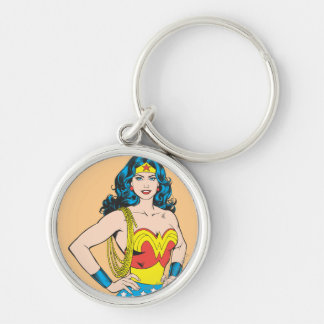 Wonder Woman | Vintage Pose with Lasso Key Ring
