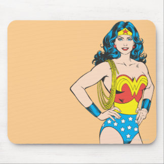 Wonder Woman | Vintage Pose with Lasso Mouse Mat