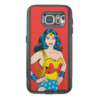 Wonder Woman | Vintage Pose with Lasso OtterBox Samsung Galaxy S6 Case