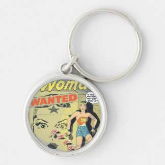 Wonder Woman Wanted Key Ring