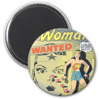 Wonder Woman Wanted 6 Cm Round Magnet