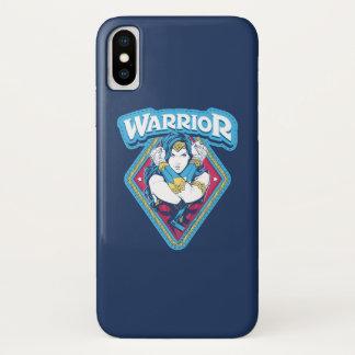 Wonder Woman Warrior Graphic iPhone X Case