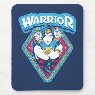 Wonder Woman Warrior Graphic Mouse Pad