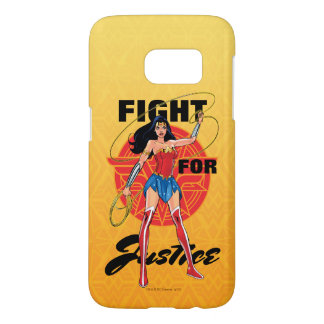 Wonder Woman With Lasso - Fight For Justice