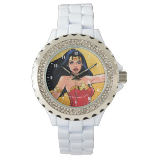 Wonder Woman With Lasso - Fight For Justice Watch