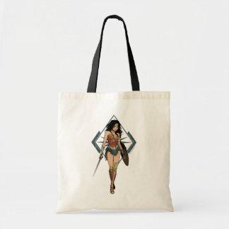 Wonder Woman With Sword Comic Art
