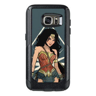 Wonder Woman With Sword Comic Art OtterBox Samsung Galaxy S7 Case