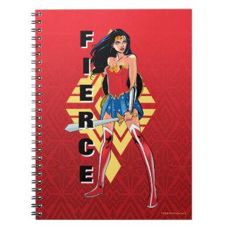 Wonder Woman With Sword - Fierce Notebook