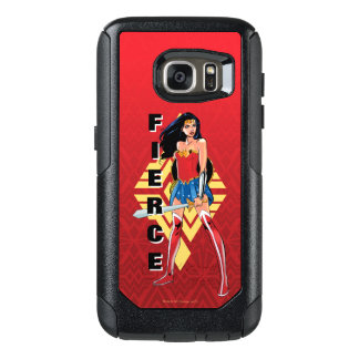 Wonder Woman With Sword - Fierce OtterBox Samsung Galaxy S7 Case