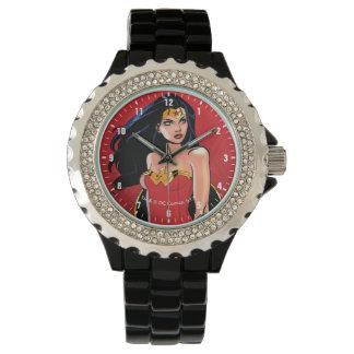 Wonder Woman With Sword - Fierce Wrist Watch