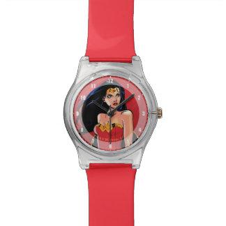 Wonder Woman With Sword - Fierce Wristwatch