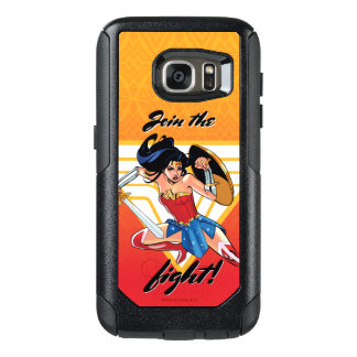 Wonder Woman With Sword - Join The Fight OtterBox Samsung Galaxy S7 Case